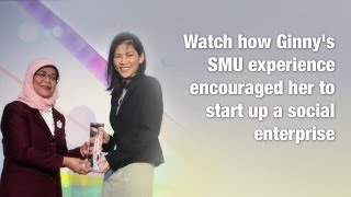 Discover how Ginny's SMU experience encouraged her to start up a social enterprise for the deaf