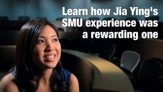 Jia Ying is open about the distinctive features of SMU's School of Accountancy