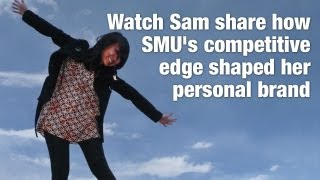 Sam from SMU's School of Social Sciences shares her views on the course's competitive edge